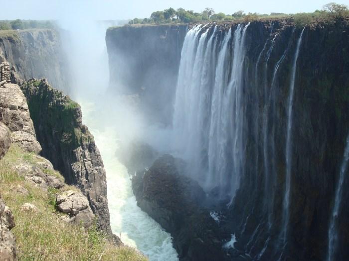 Ζαμβέζης - καταρράκτες Βικτώρια